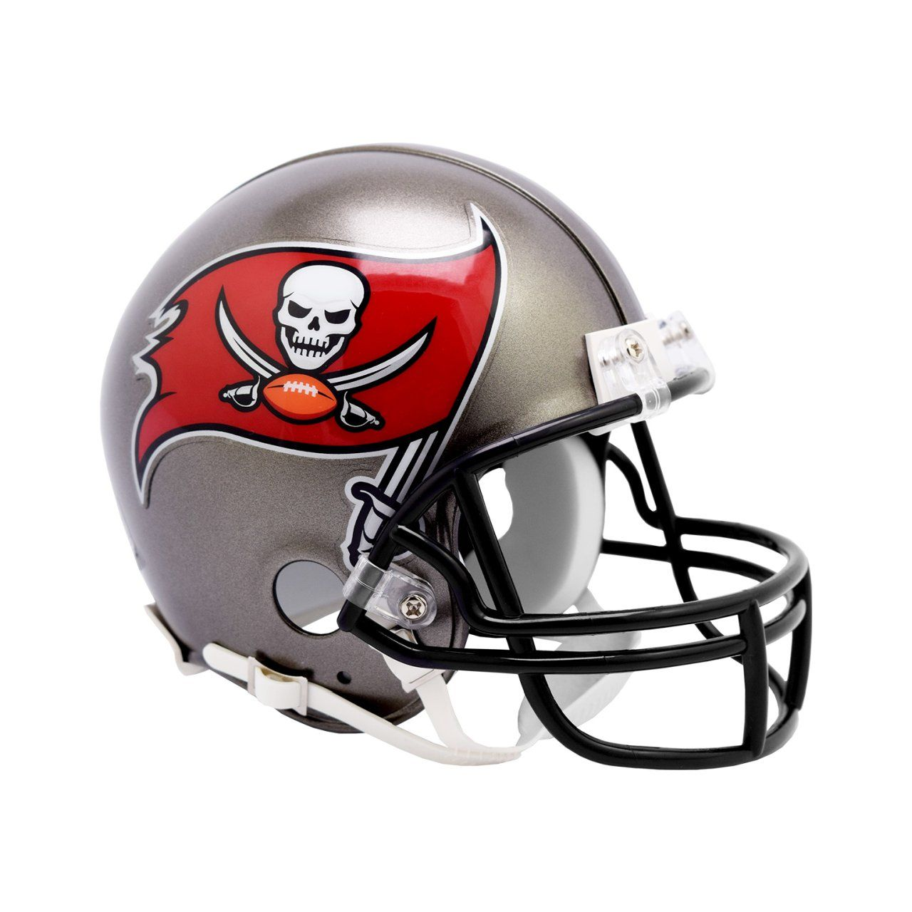 amfoo - Riddell VSR4 Mini Football Helm - NFL Tampa Bay Buccaneers
