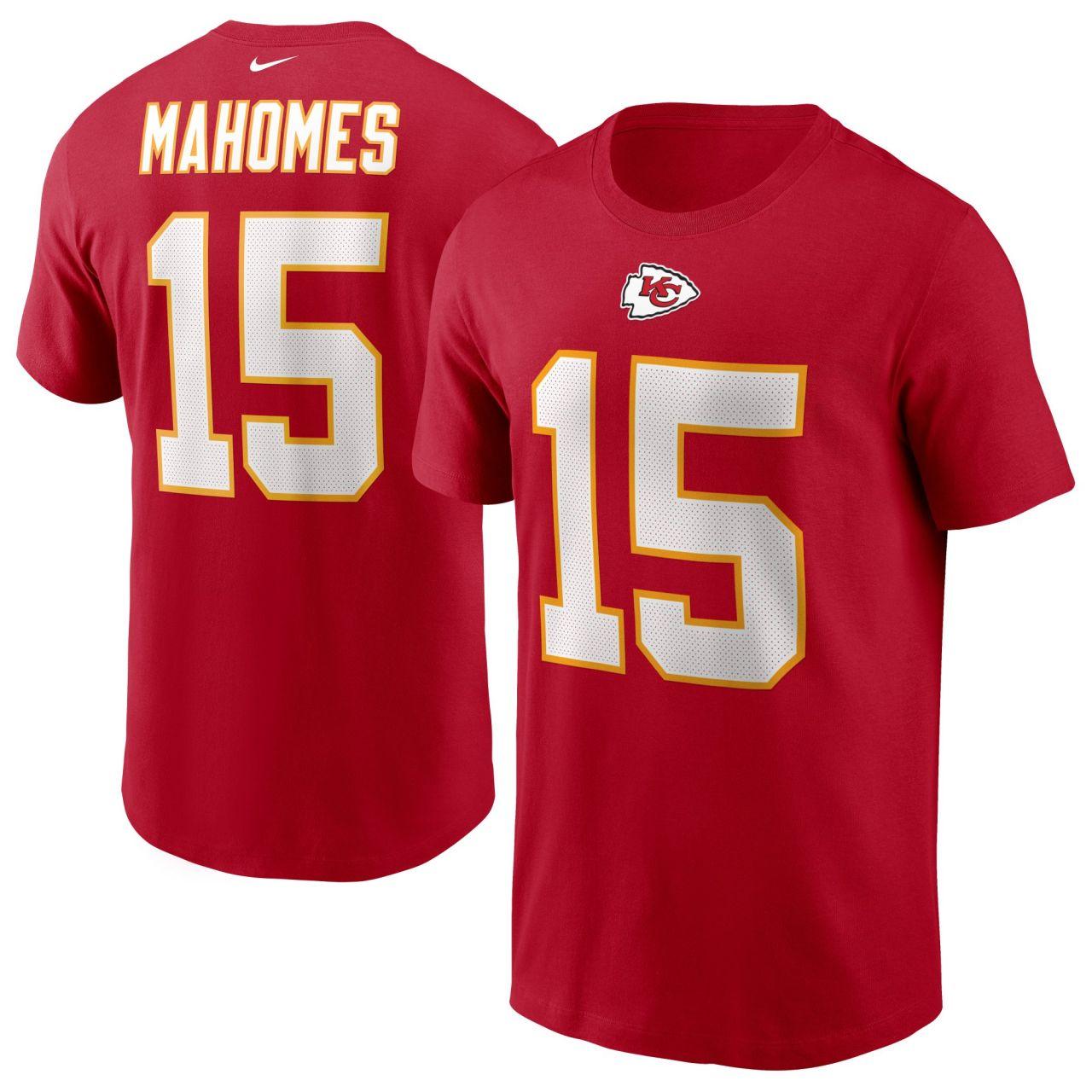 amfoo - Nike Player Shirt Kansas City Chiefs #15 Patrick Mahomes