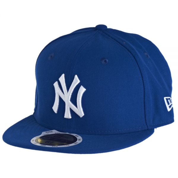 New Era 59Fifty Fitted KIDS Cap - NY Yankees royal