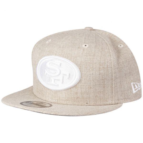 New Era 9Fifty Snapback Cap San Francisco 49ers heather oat