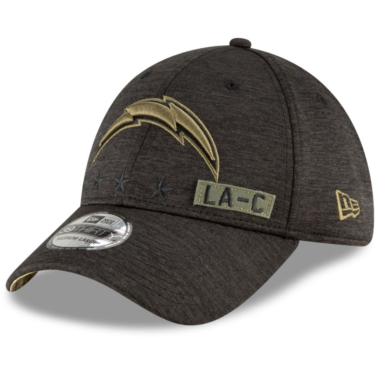 amfoo - New Era 39Thirty Cap Salute to Service Los Angeles Chargers