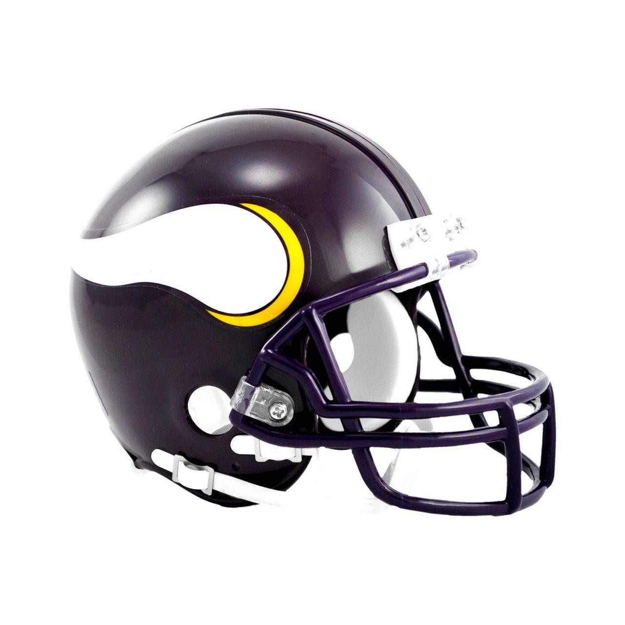 amfoo - Riddell VSR4 Mini Football Helm - Minnesota Vikings 1983-01