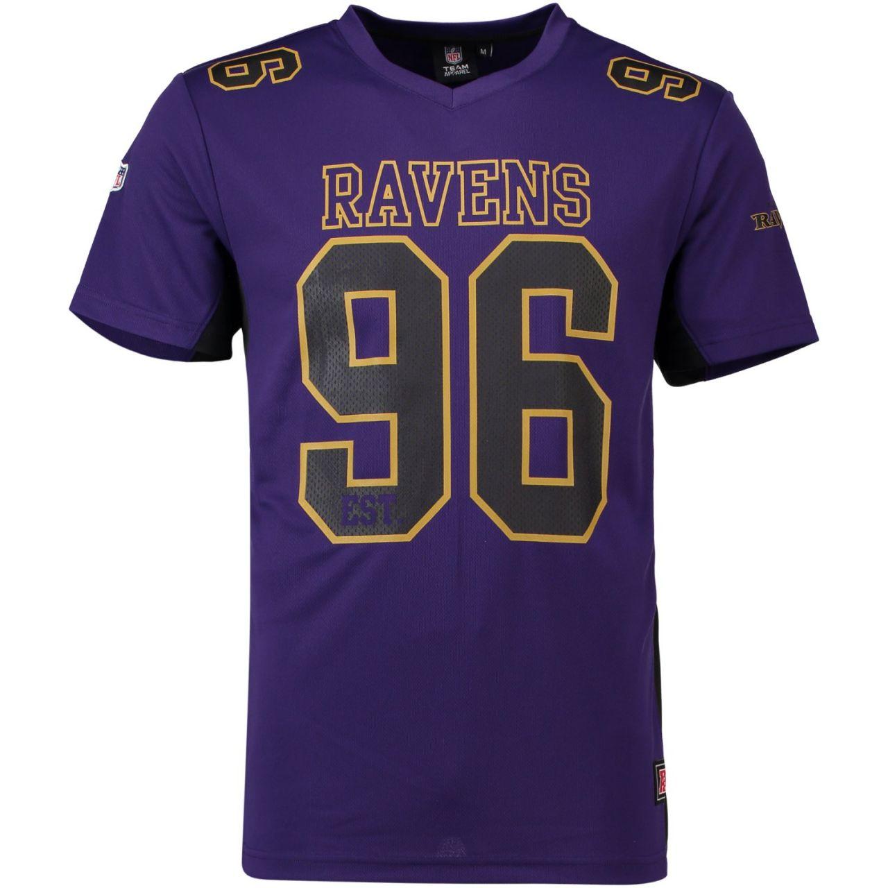 amfoo - Majestic NFL MORO Polymesh Jersey Shirt - Baltimore Ravens