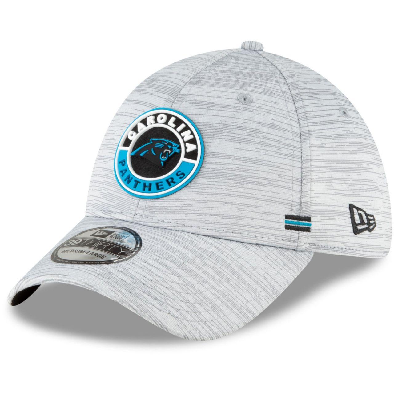 amfoo - New Era 39Thirty Cap - SIDELINE 2020 Carolina Panthers