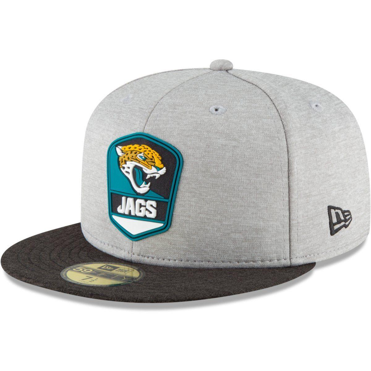 amfoo - New Era 59Fifty Cap - NFL Sideline Away Jacksonville Jaguars