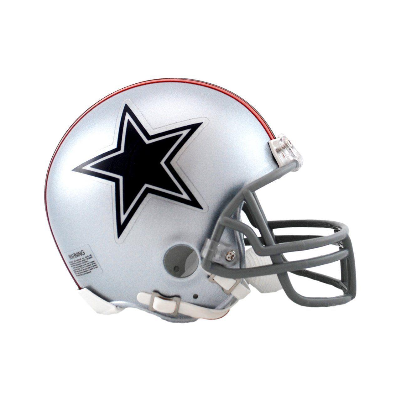amfoo - Riddell VSR4 Mini Football Helm - Dallas Cowboys 1976