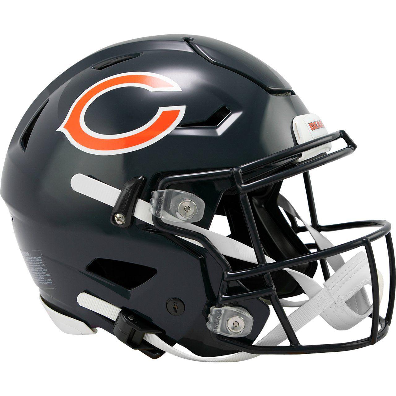 amfoo - Riddell Authentic SpeedFlex Helm - NFL Chicago Bears