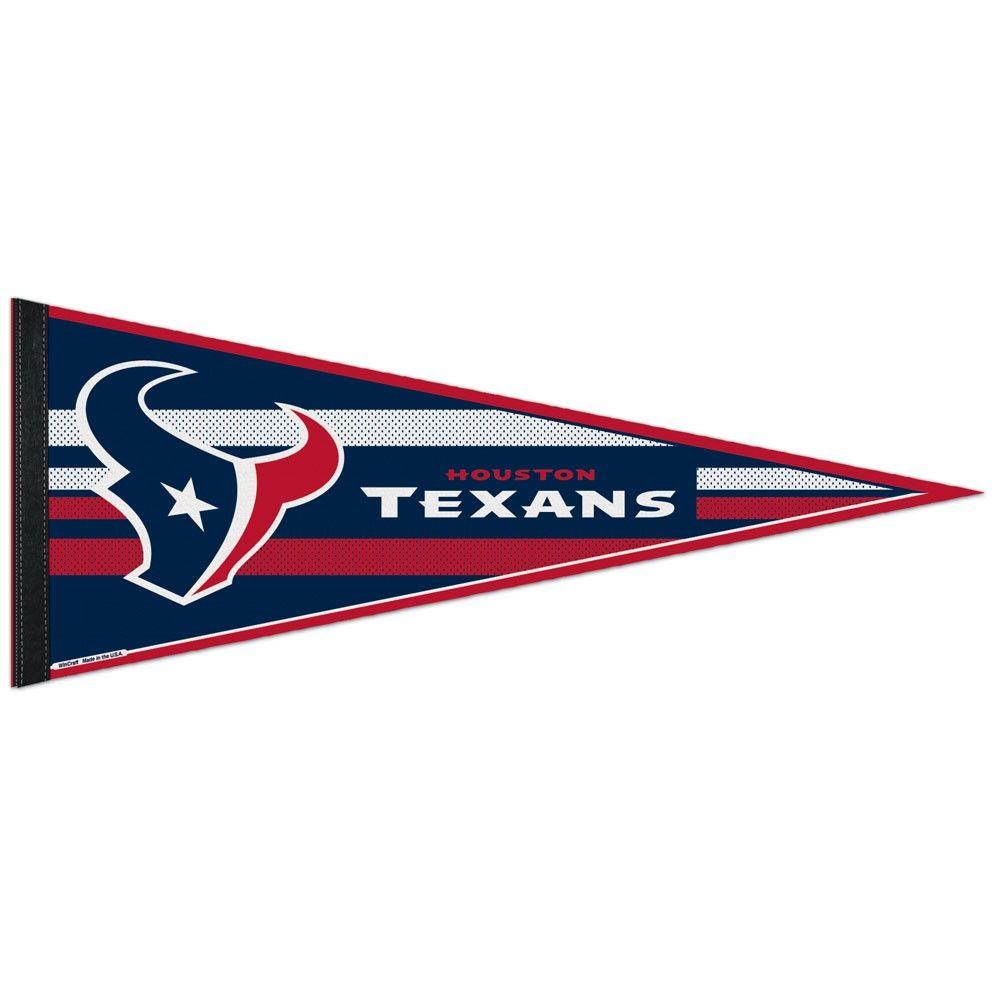 amfoo - Wincraft NFL Filz Wimpel 75x30cm - Houston Texans