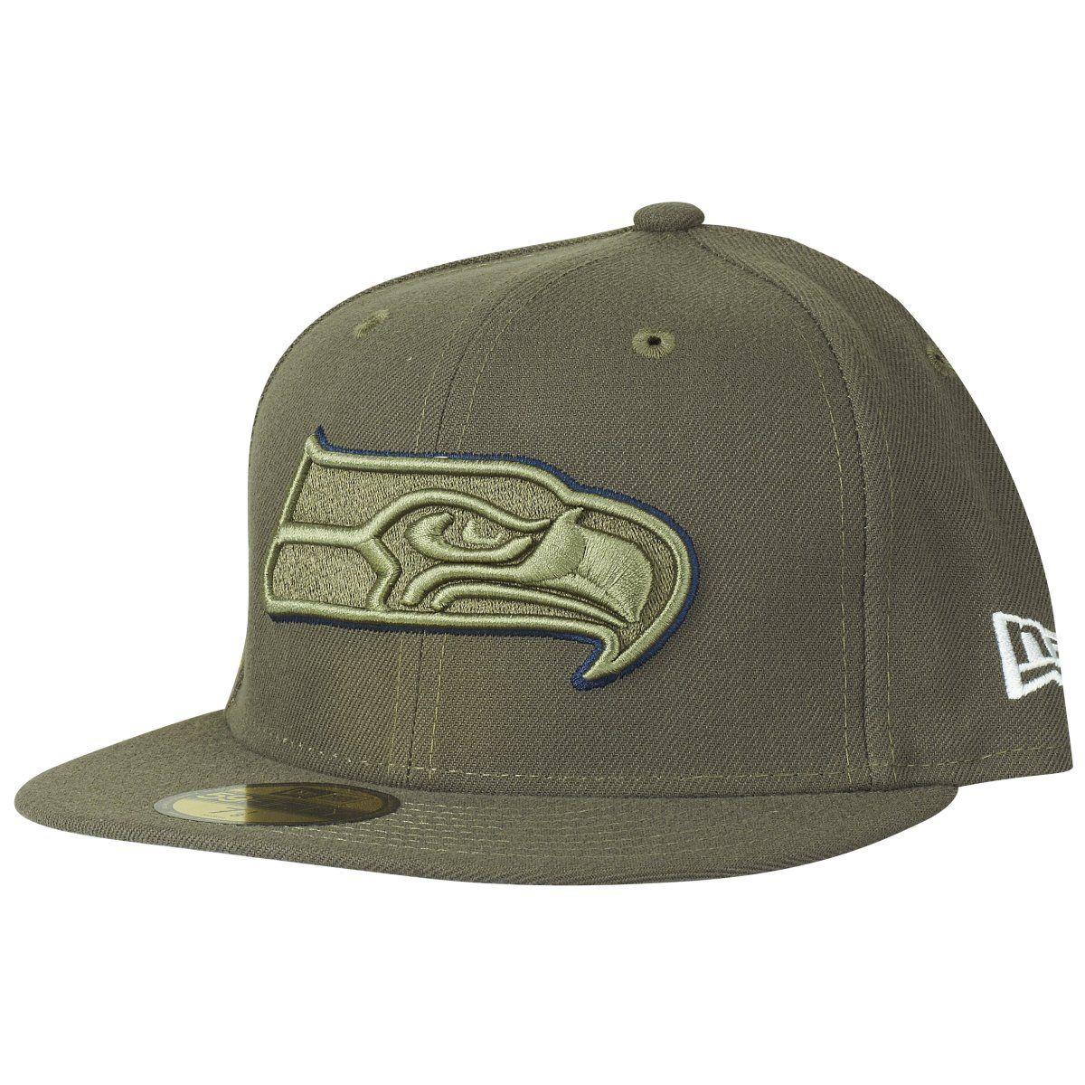 amfoo - New Era 59Fifty Cap - Salute to Service Seattle Seahawks