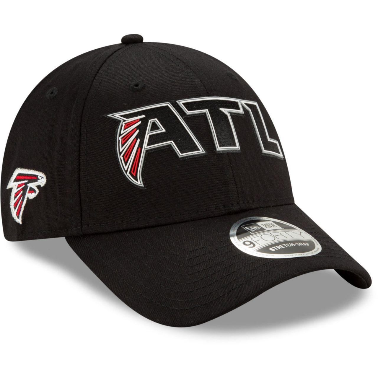 amfoo - New Era 9FORTY Stretch Snap Cap - 2020 DRAFT Atlanta Falcons