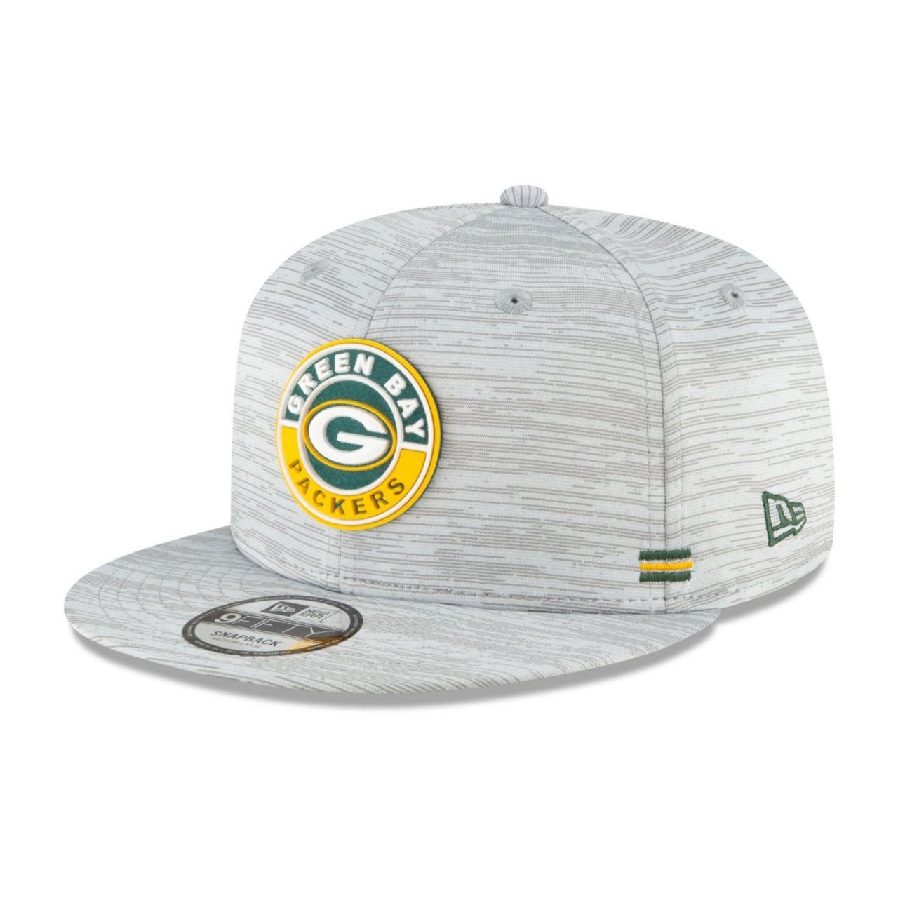 amfoo - New Era Snapback Kinder Cap SIDELINE 2020 Green Bay Packers