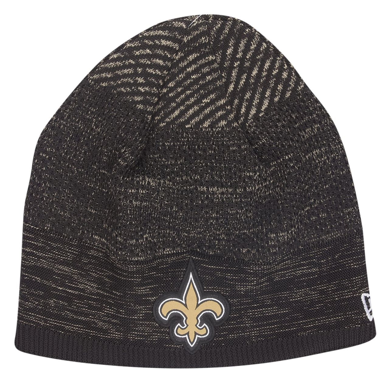 amfoo - New Era TECH KNIT Wintermütze NFL Beanie New Orleans Saints