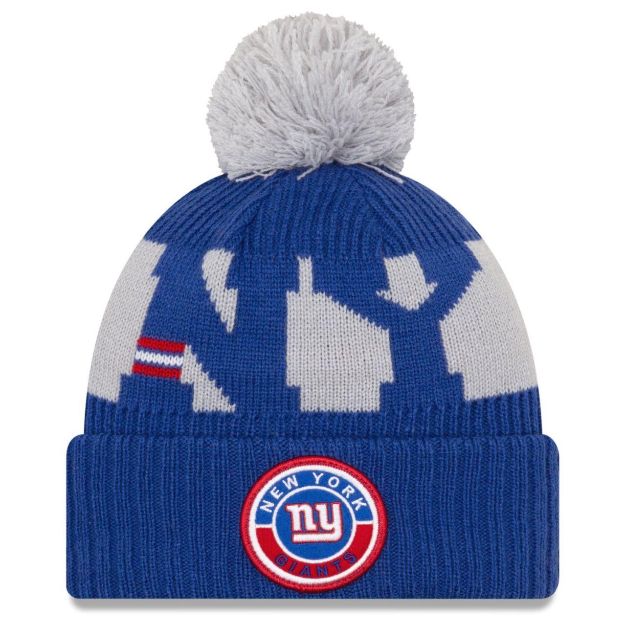amfoo - New Era NFL ON-FIELD Sideline Mütze - New York Giants