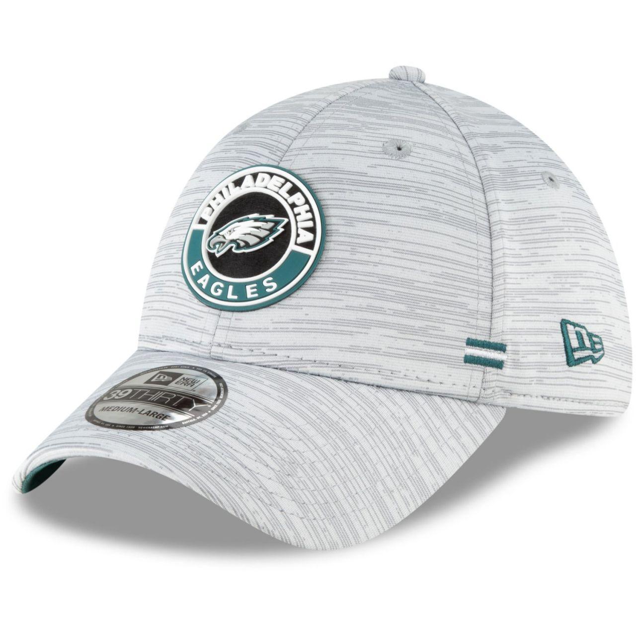 amfoo - New Era 39Thirty Cap - SIDELINE 2020 Philadelphia Eagles