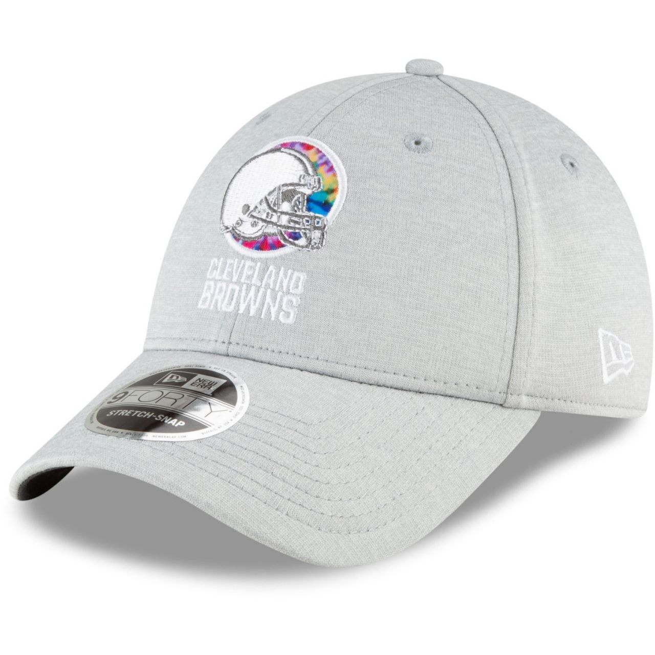 amfoo - New Era 9FORTY Stretch Cap - CRUCIAL CATCH Cleveland Browns