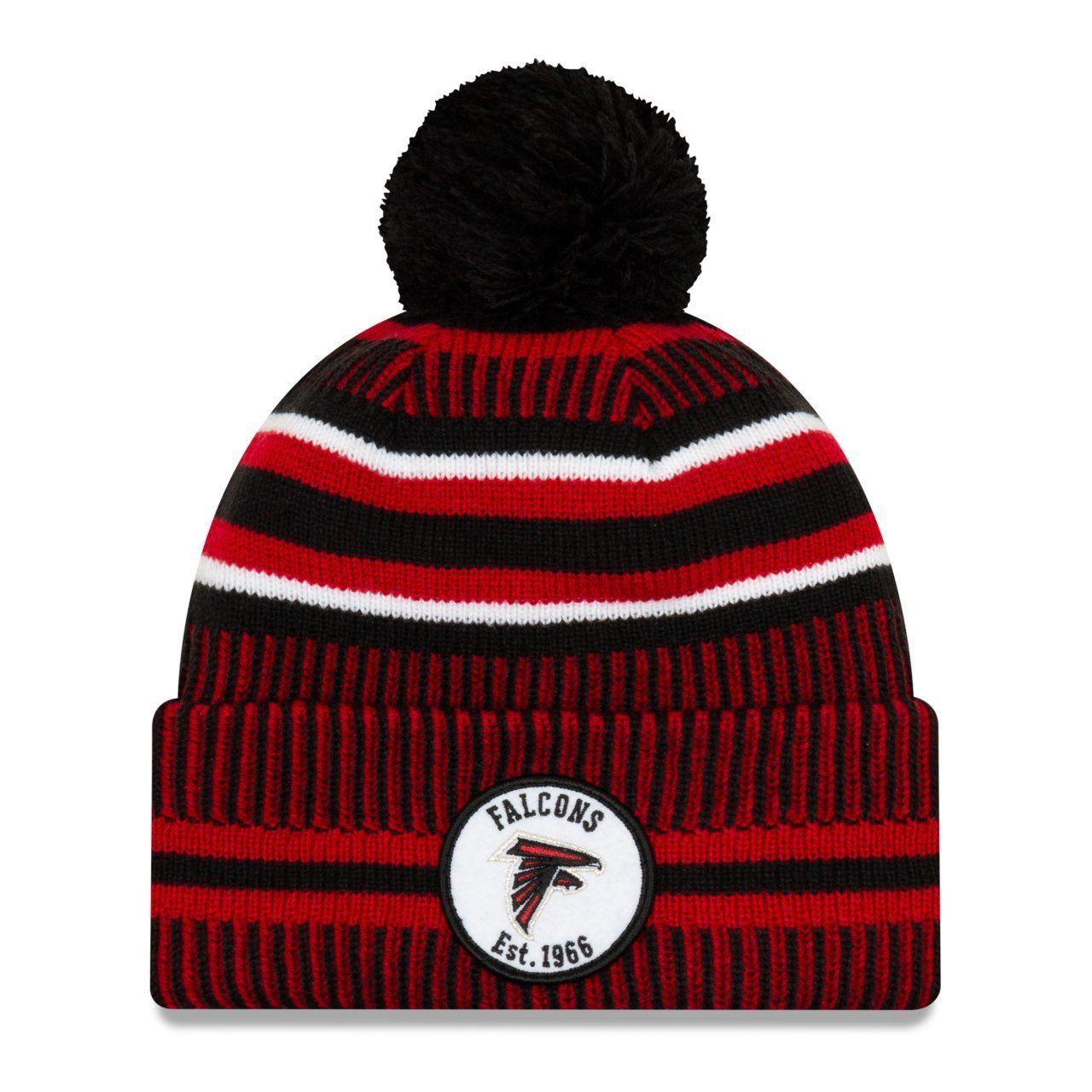 amfoo - New Era Sideline Bommel Kinder Youth Mütze Atlanta Falcons
