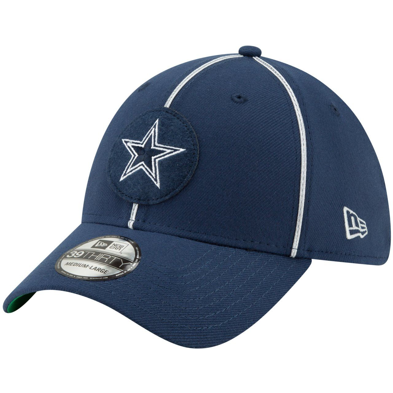 amfoo - New Era 39Thirty Cap - Sideline 1920 Home Dallas Cowboys