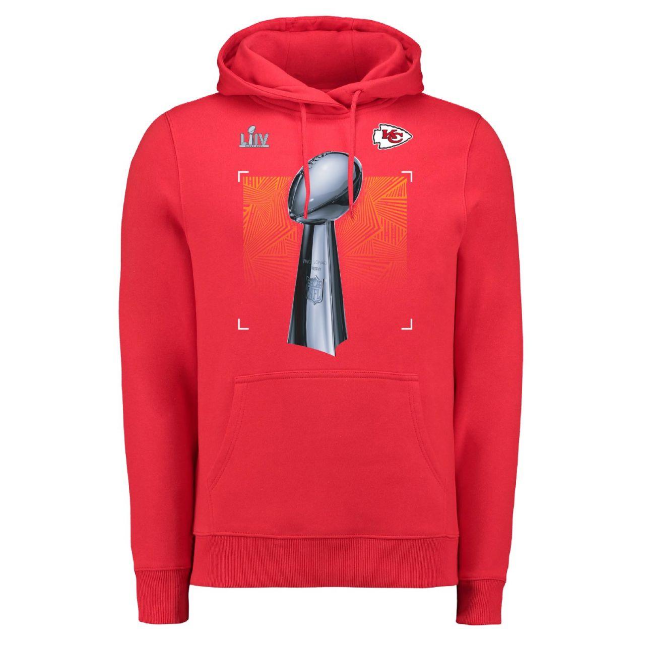 amfoo - Kansas City Chiefs Super Bowl LIV Champions Parade Hoody