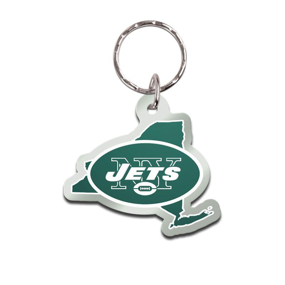amfoo - Wincraft STATE Schlüsselanhänger - NFL New York Jets