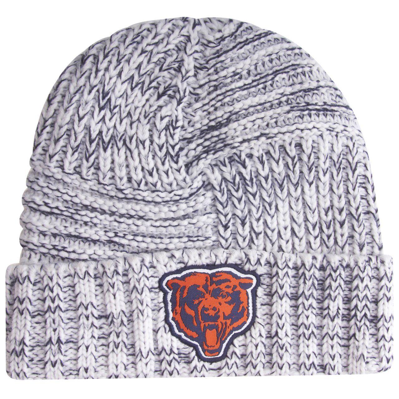 amfoo - New Era Sideline Damen Strick Mütze - Chicago Bears GSH