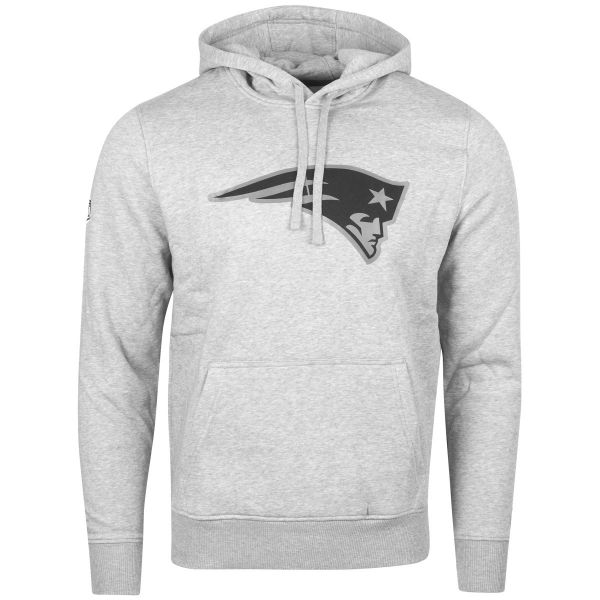 New Era Fleece Hoody - NFL New England Patriots grau