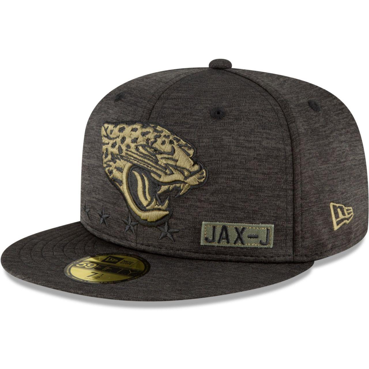 amfoo - New Era 59FIFTY Cap Salute to Service Jacksonville Jaguars