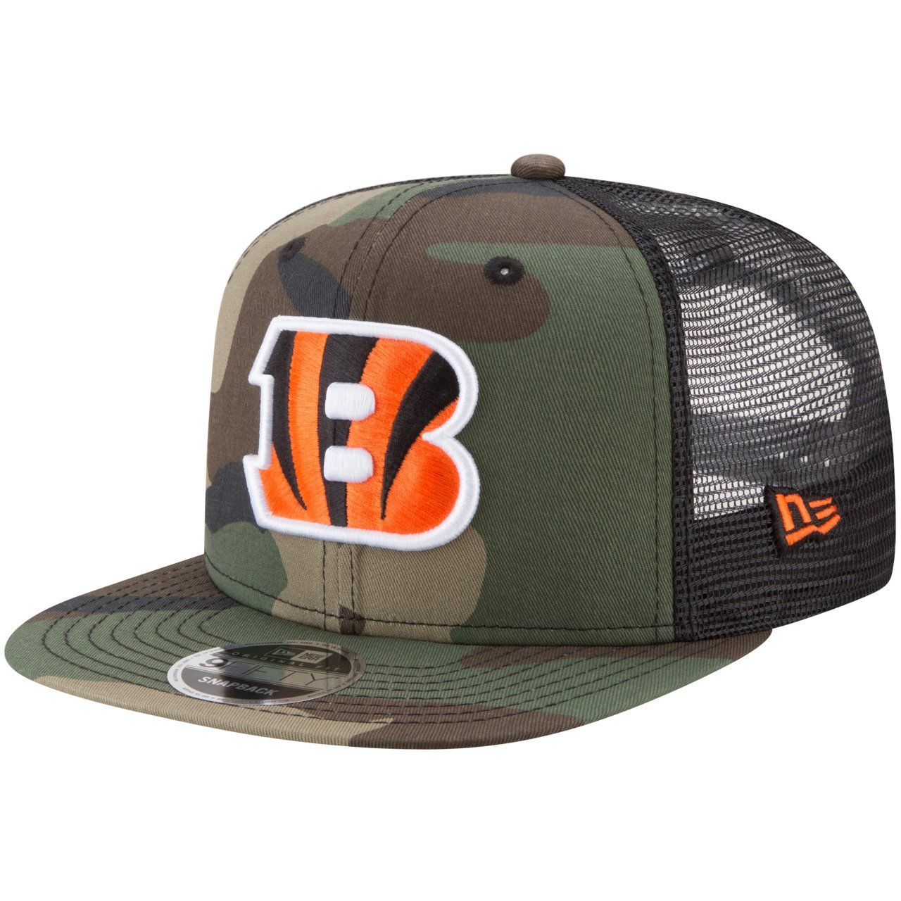 amfoo - New Era 9Fifty Mesh Snapback Cap Cincinnati Bengals wood