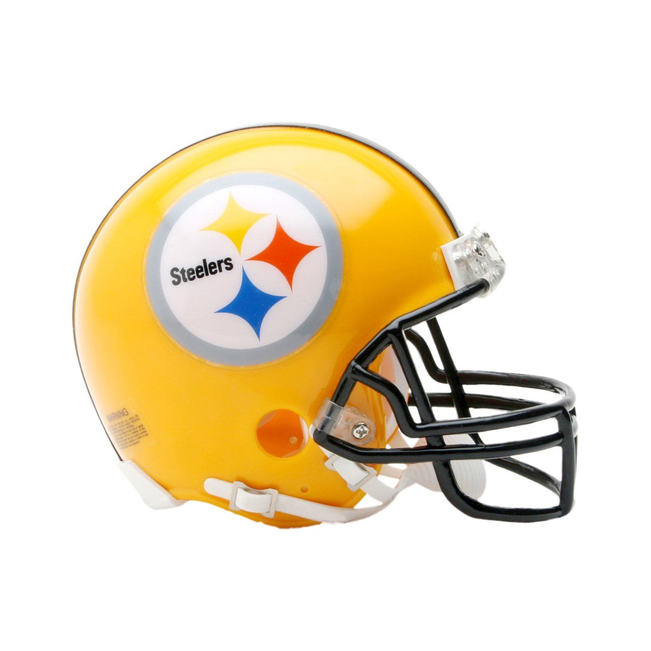 amfoo - Riddell VSR4 Mini Football Helm - Pittsburgh Steelers 2007