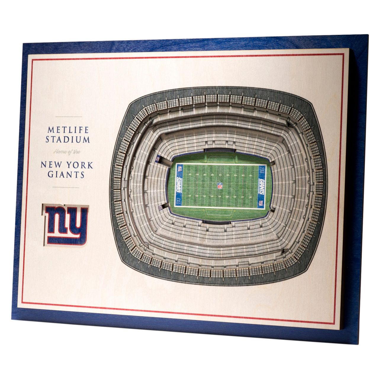 amfoo - YouTheFan Holz Wanddeko Stadion New York Giants 43x33cm
