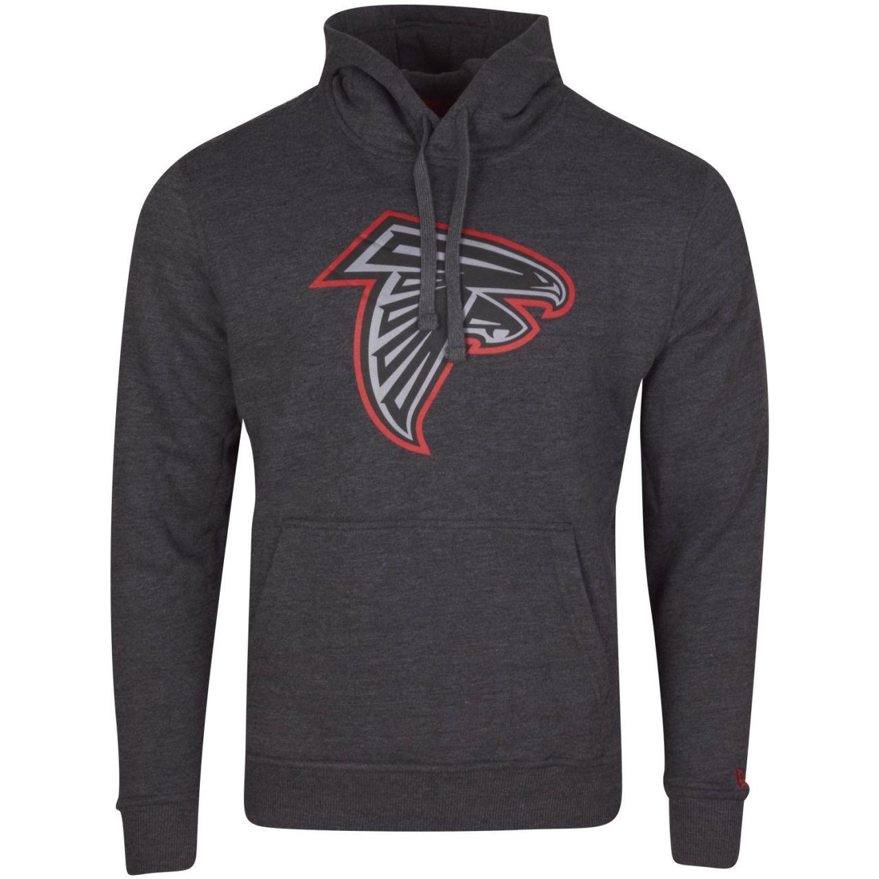 amfoo - New Era Fleece Hoody - NFL Atlanta Falcons charcoal