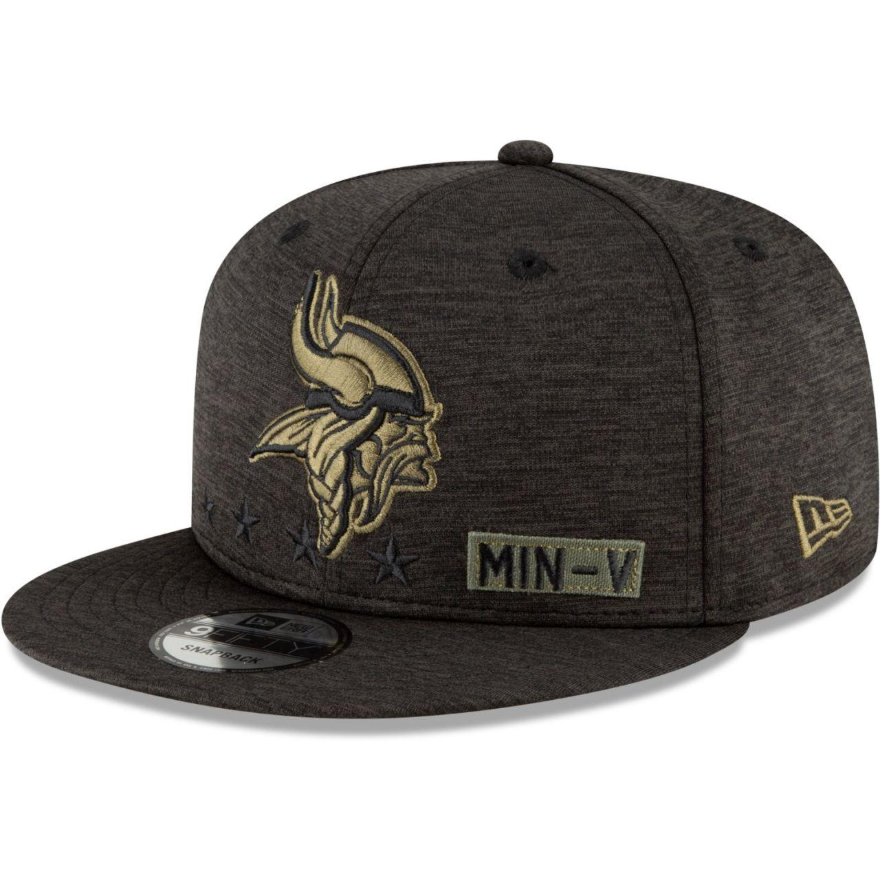 amfoo - New Era 9FIFTY Cap Salute to Service Minnesota Vikings