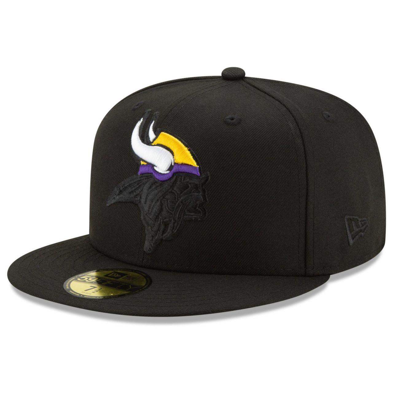 amfoo - New Era 59Fifty Fitted Cap - ELEMENTS Minnesota Vikings