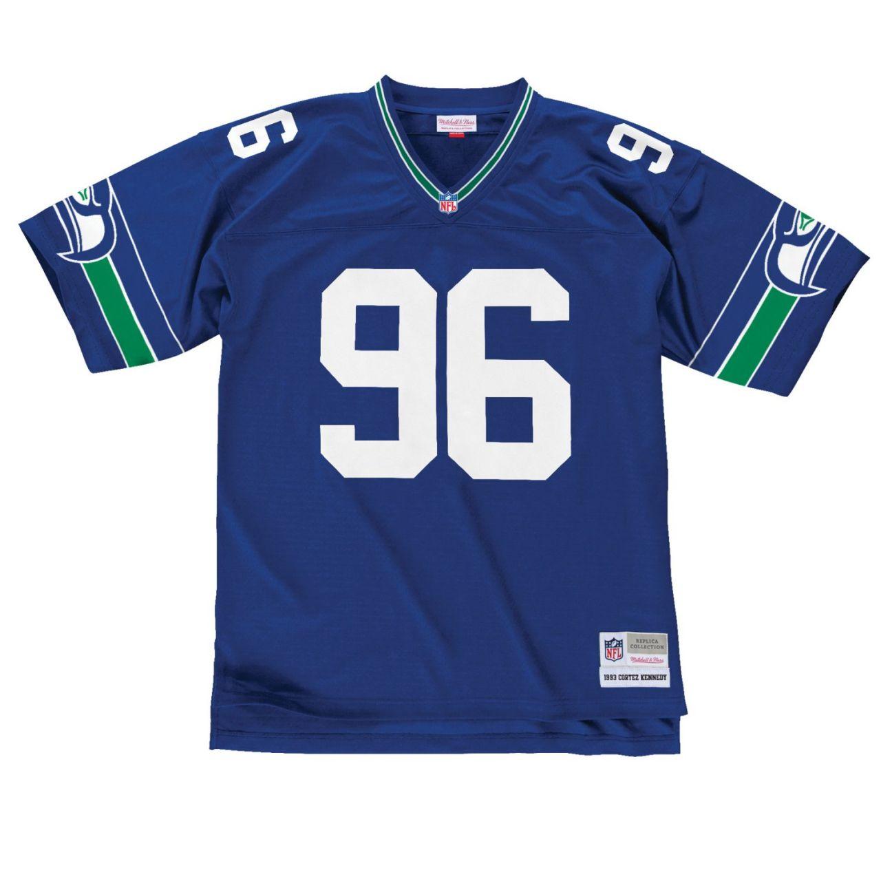 amfoo - NFL Legacy Jersey - Seattle Seahawks 1993 Cortez Kennedy
