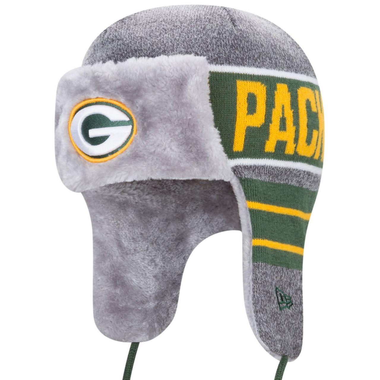 amfoo - New Era Wintermütze FROSTY TRAPPER - Green Bay Packers