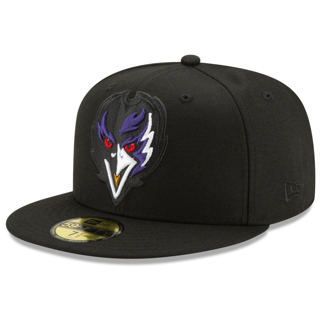 amfoo - New Era 59Fifty Fitted Cap - ELEMENTS Baltimore Ravens