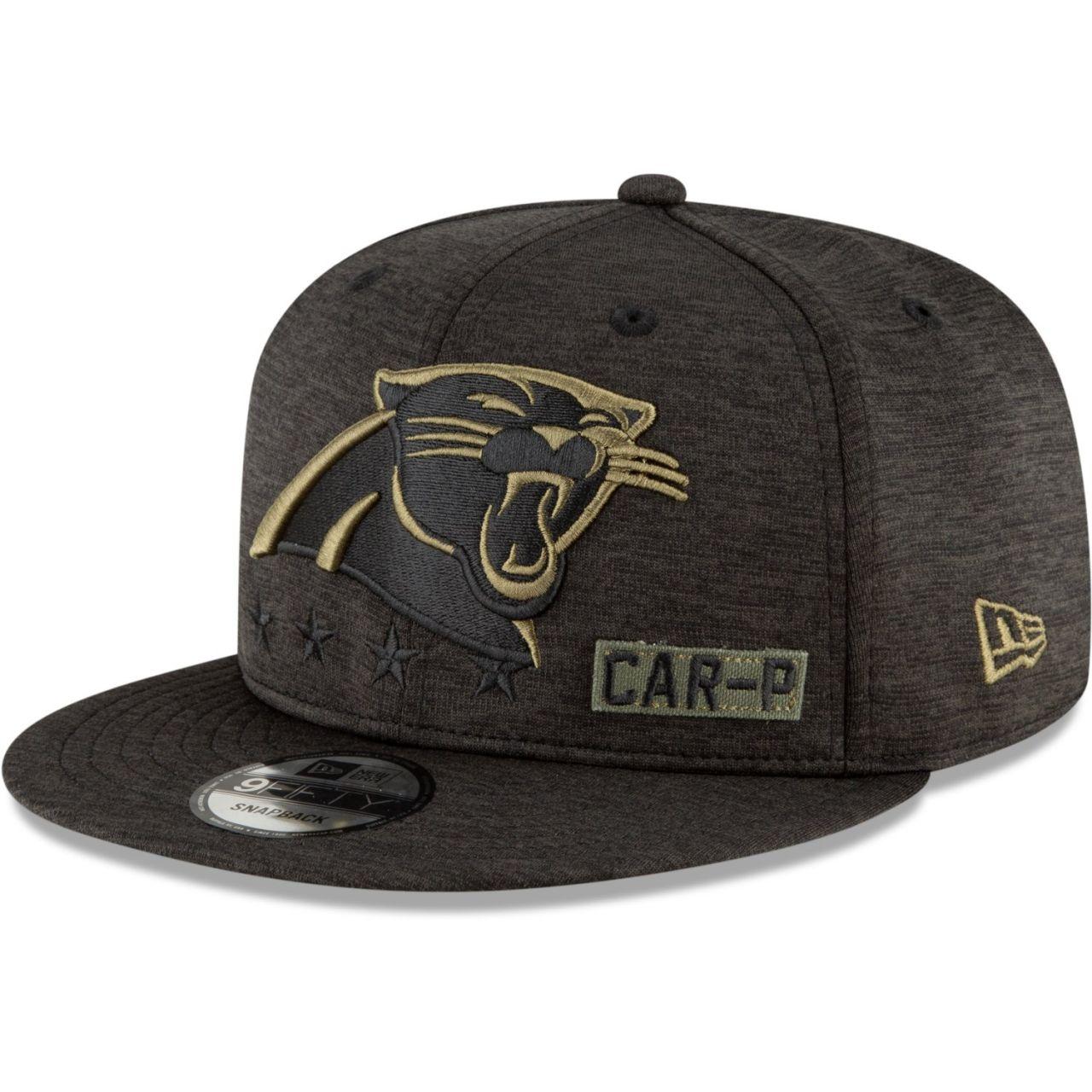 amfoo - New Era 9FIFTY Cap Salute to Service Carolina Panthers