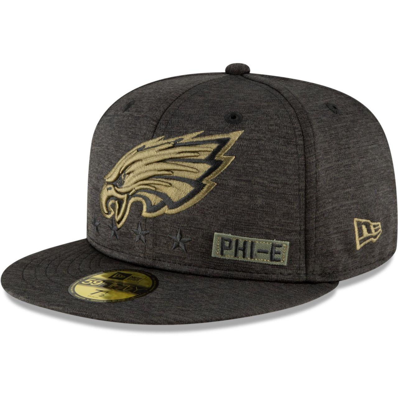 amfoo - New Era 59FIFTY Cap Salute to Service Philadelphia Eagles