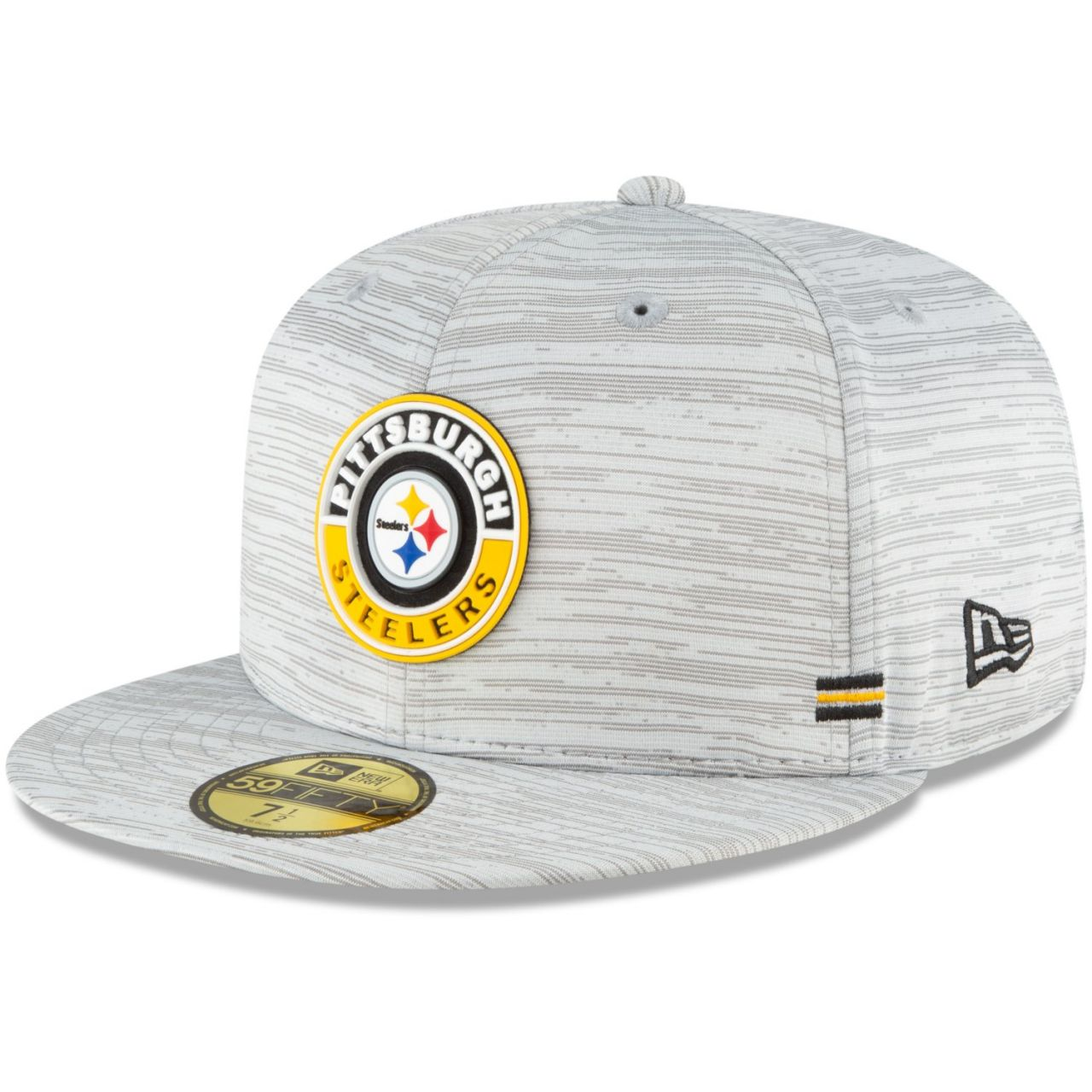 amfoo - New Era 59Fifty Fitted Cap SIDELINE 2020 Pittsburgh Steelers