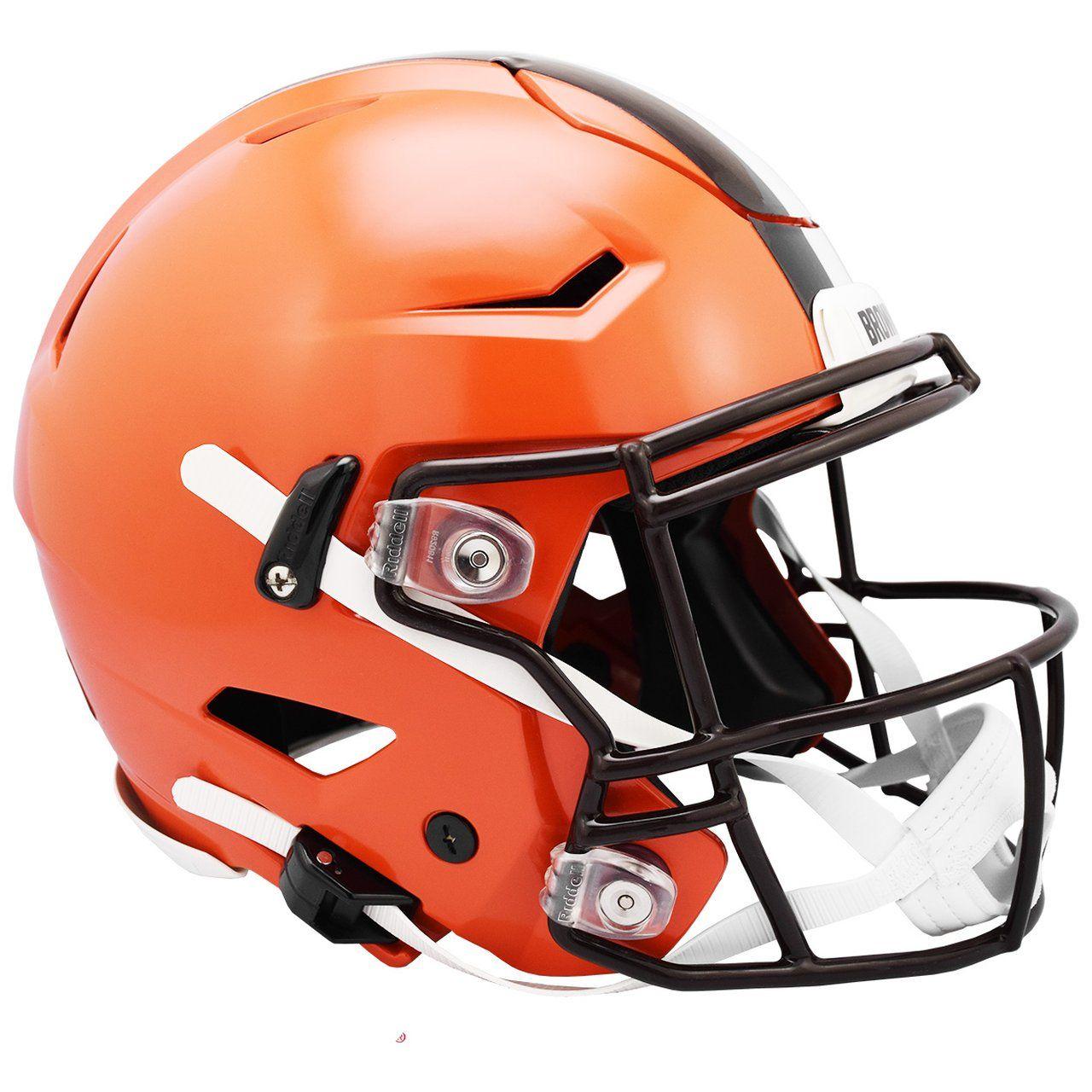 amfoo - Riddell Authentic SpeedFlex Helm - NFL Cleveland Browns