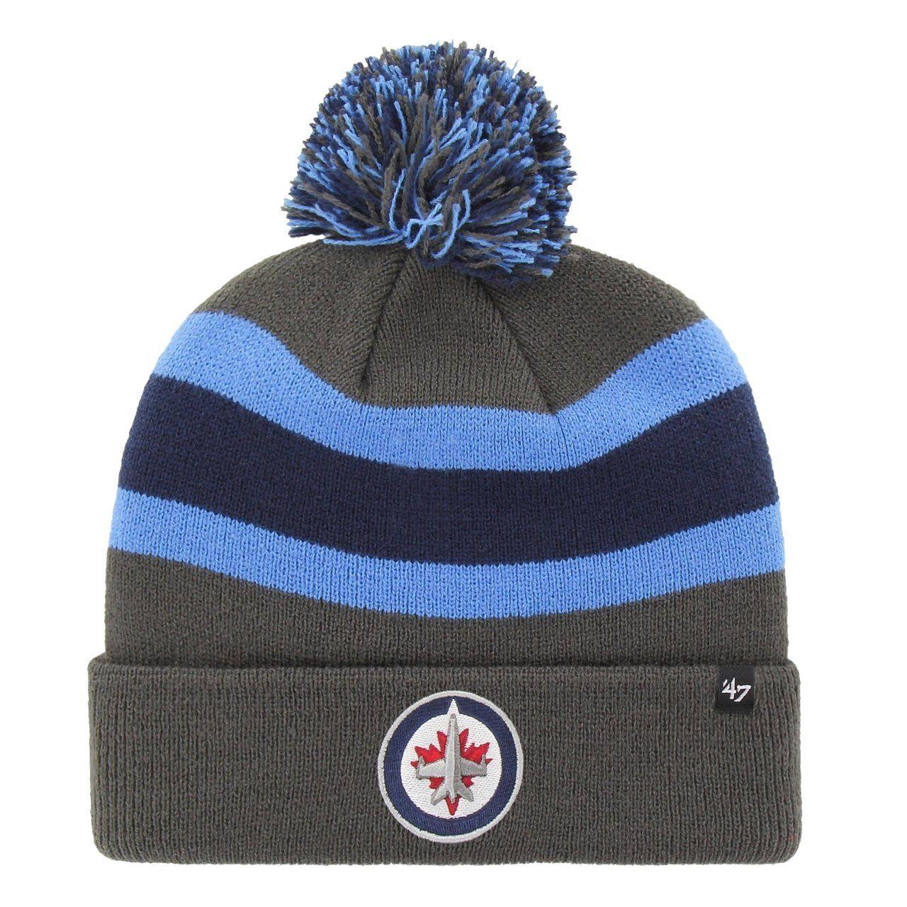 amfoo - 47 Brand Strick Winter Mütze - BREAKAWAY Winnipeg Jets