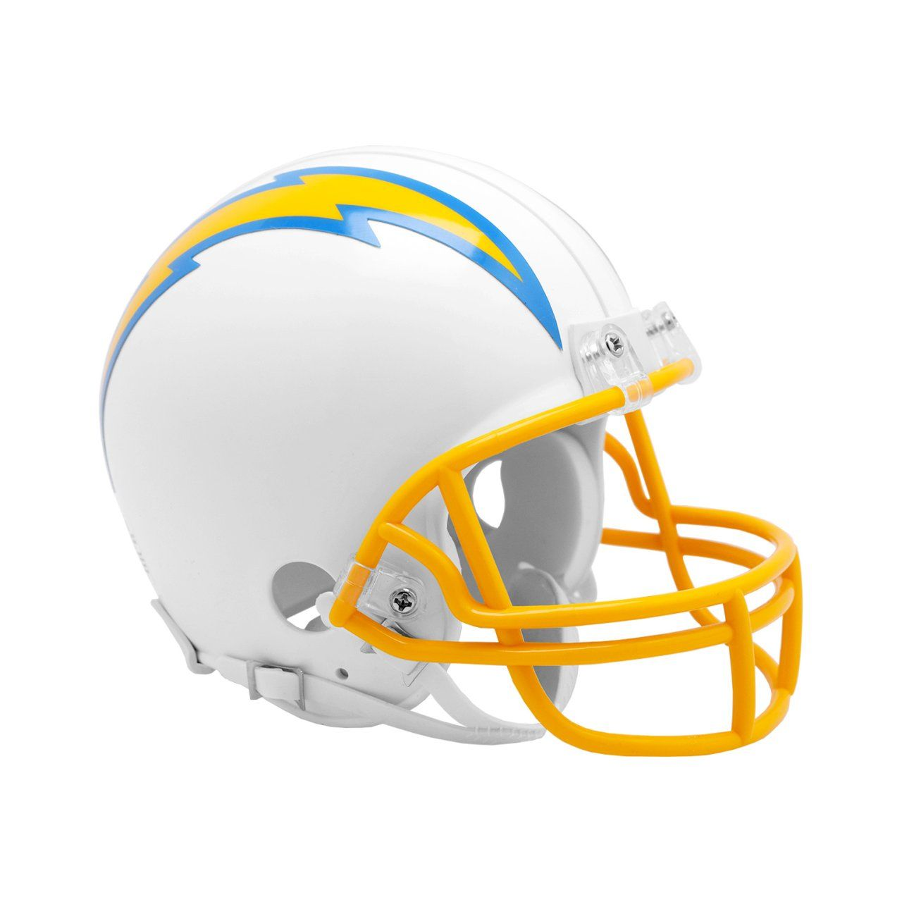 amfoo - Riddell VSR4 Mini Football Helm - NFL Los Angeles Chargers