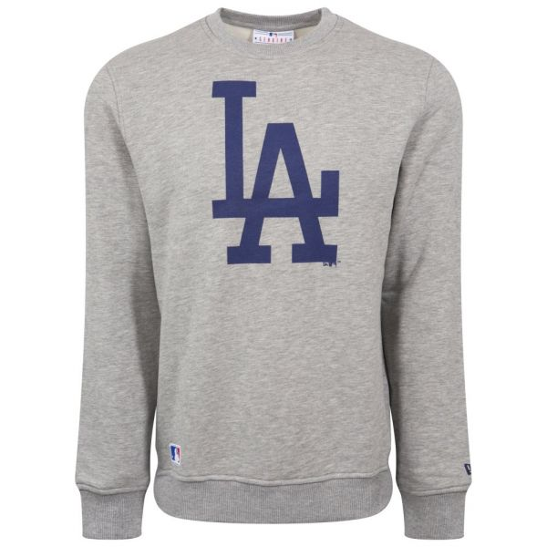 New Era Pullover - MLB Los Angeles Dodgers grau