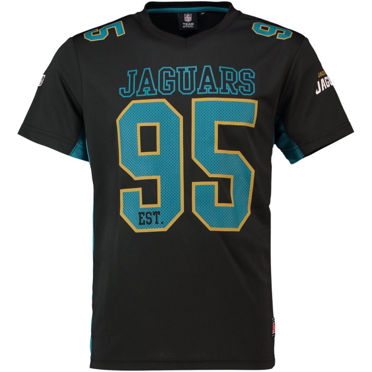 amfoo - Majestic NFL Polymesh Jersey Shirt - Jacksonville Jaguars