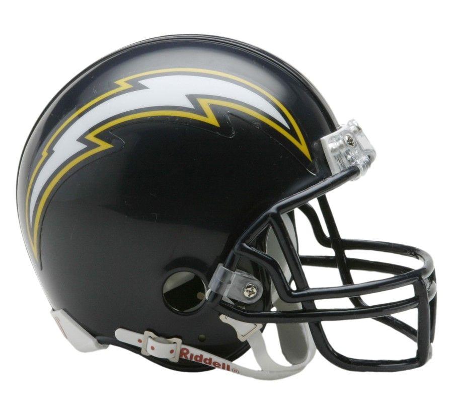 amfoo - Riddell VSR4 Mini Football Helm San Diego Chargers 1988-06