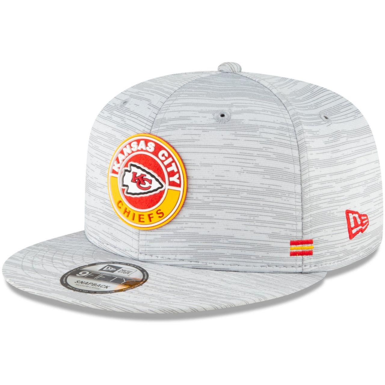 amfoo - New Era 9FIFTY Snapback Cap SIDELINE 2020 Kansas City Chiefs