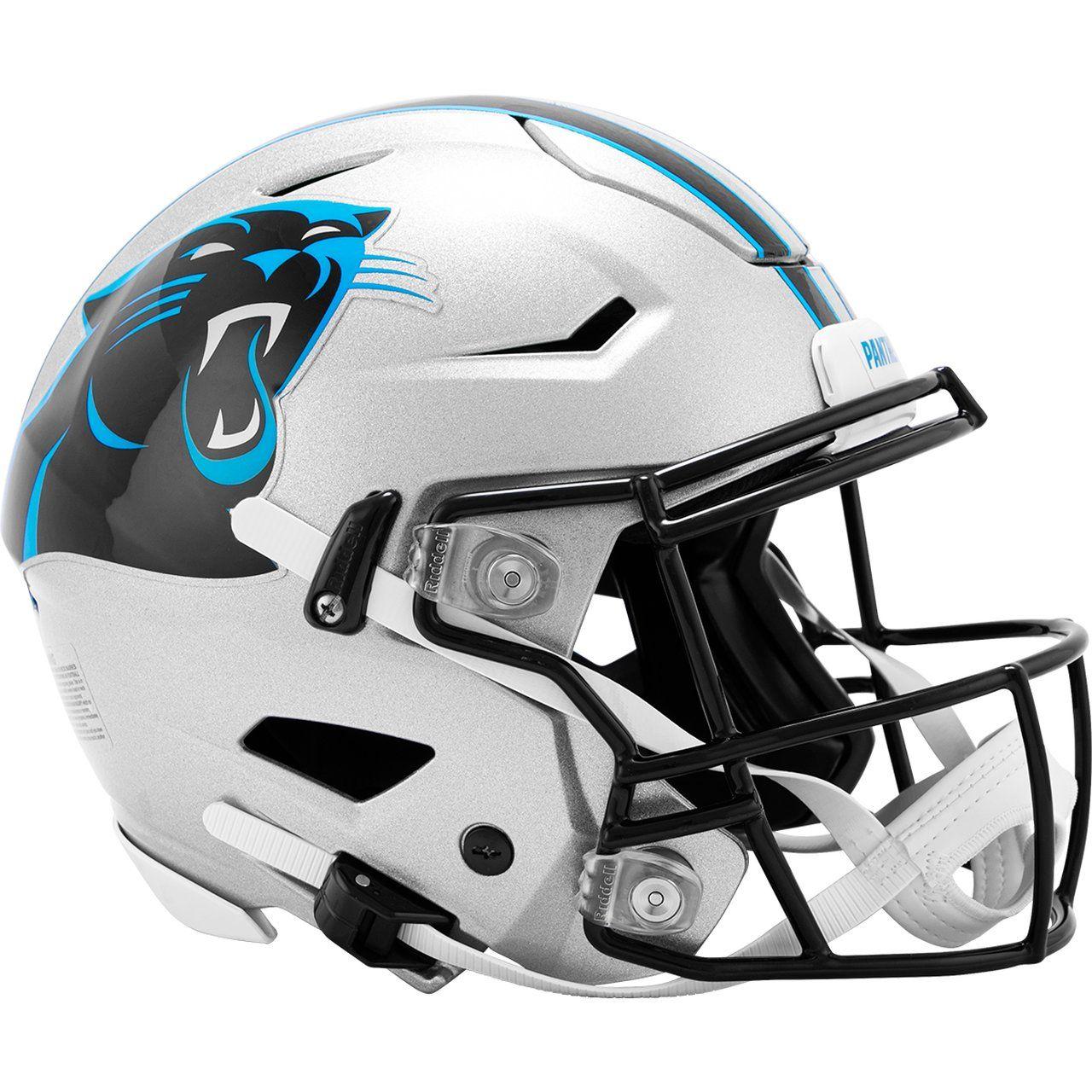 amfoo - Riddell Authentic SpeedFlex Helm - NFL Carolina Panthers