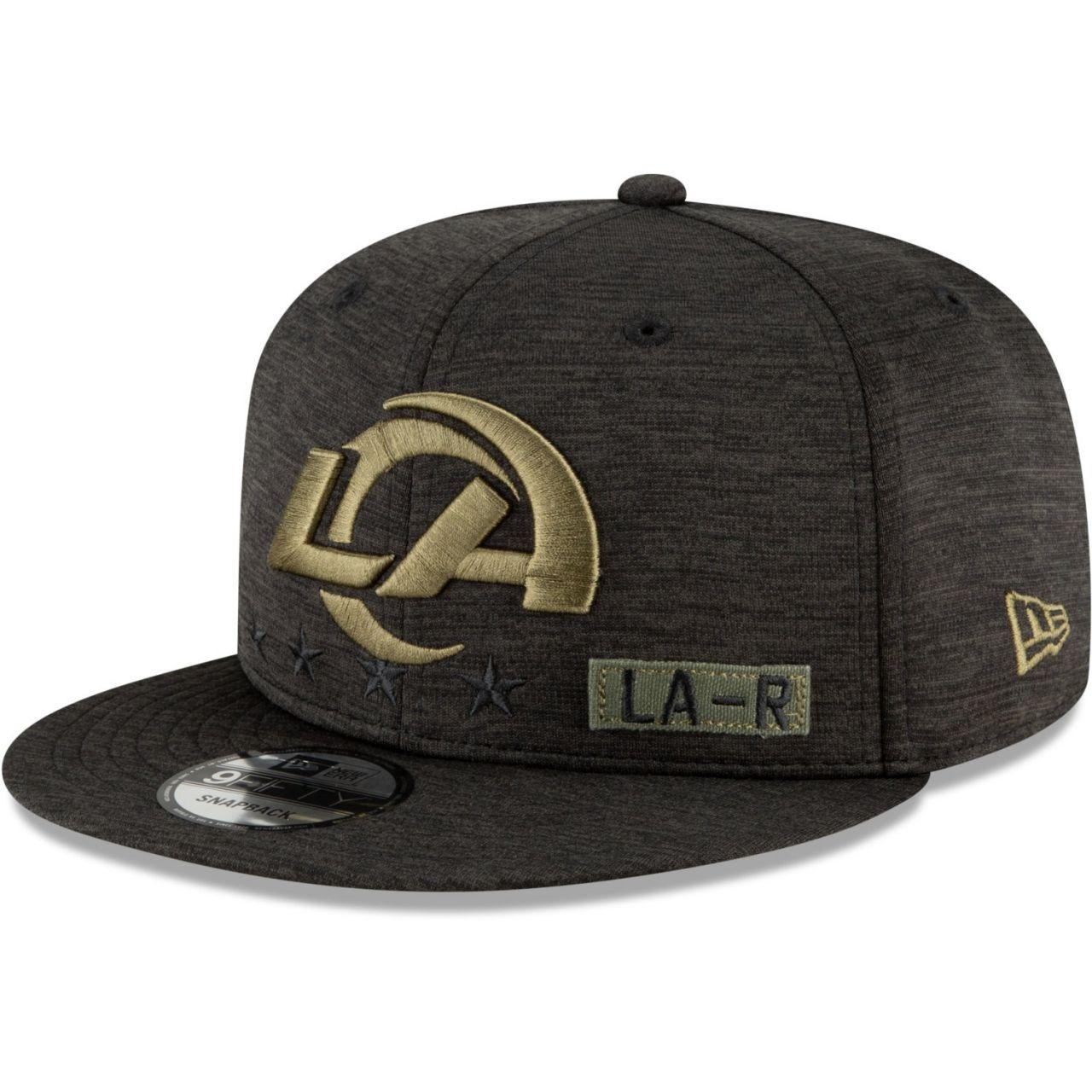amfoo - New Era 9FIFTY Cap Salute to Service Los Angeles Rams