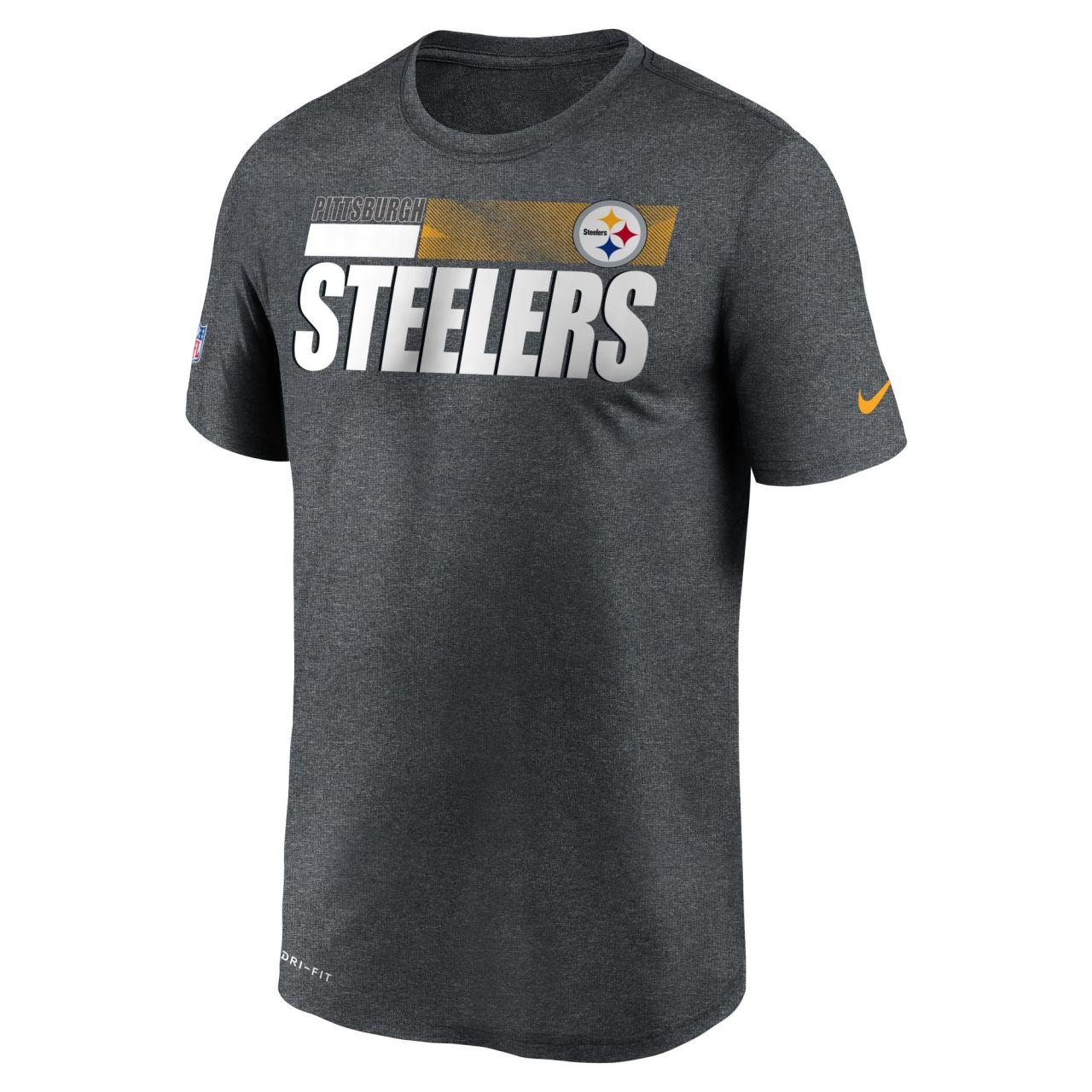 amfoo - Nike Dri-FIT Legend Shirt - SIDELINE Pittsburgh Steelers