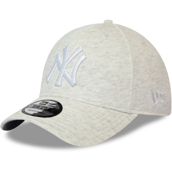New Era 9Forty Strapback Cap - JERSEY New York Yankees grau