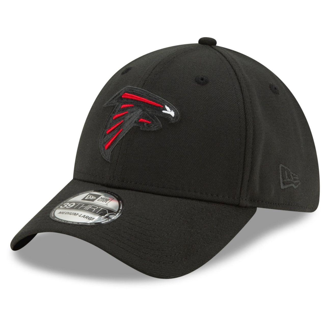 amfoo - New Era 39Thirty Stretch Cap - ELEMENTS Atlanta Falcons
